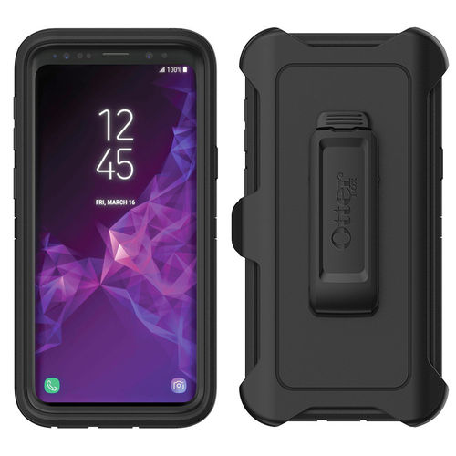 OtterBox Defender Shockproof Case for Samsung Galaxy S9 Plus - Black
